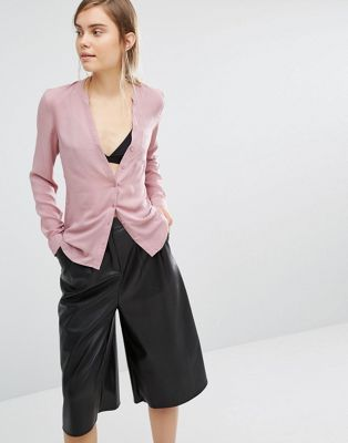 Рубашка без воротника Vero Moda