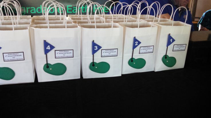 Participant goodie bags