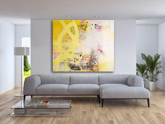 144 best Original Large Paintings | Oversized Contemporary Abstract ...