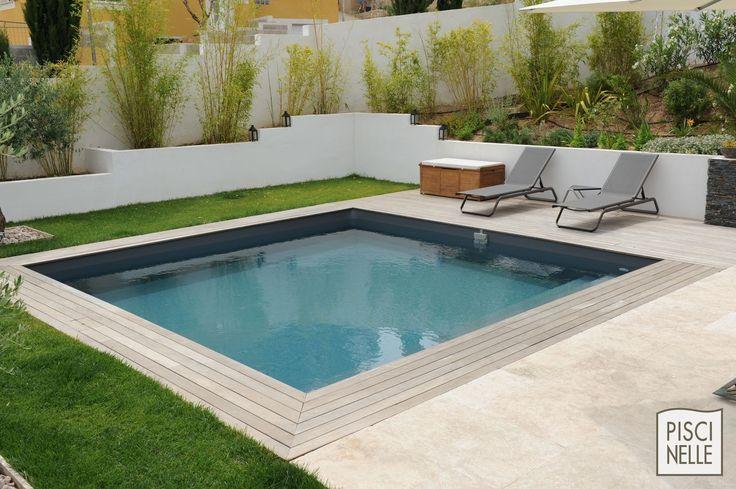 Best 25 piscine bois carr e ideas on pinterest piscine beton piscine en b - Coque piscine carree ...