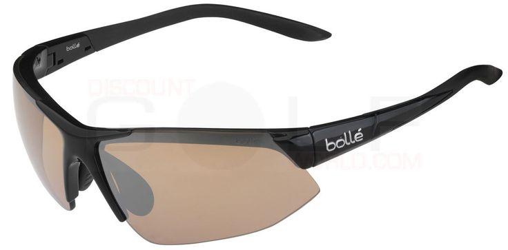 Bolle Breakaway Golf Sunglasses Finely-Tuned Ergonomics, Functional Aerodynamics, Supreme Protection Sports Sunglasses Golf Apparel