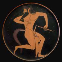 En la mitología griega, un sátiro (Griego: σάτυρος satyros ) es uno de los compañeros itifálicos...