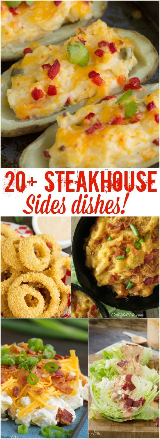 Steakhouse side dishes. recipes. salad, dinner. recipe.