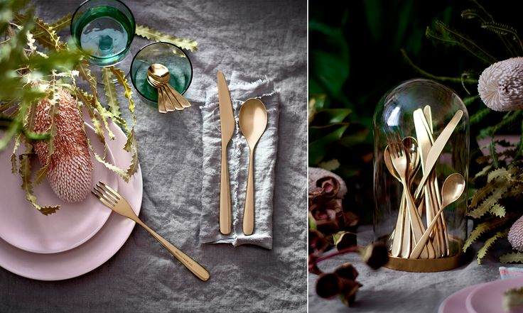Hösten på Ikea går i djupa färger, guldiga accenter och exotiska former. Här är våra favoriter ur kollektionen.