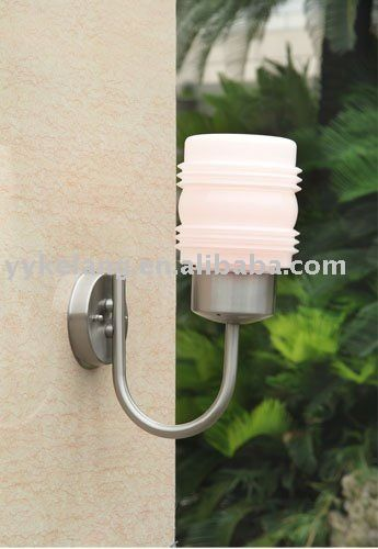 stainless steel wall ight, inside or outside both great pin!