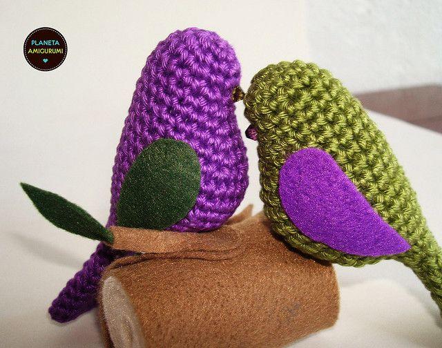 Amigurumi Crochet Birds