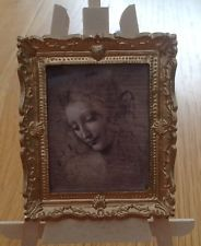 DOLLS HOUSE MINIATURES - Drawing of a girl picture (149)