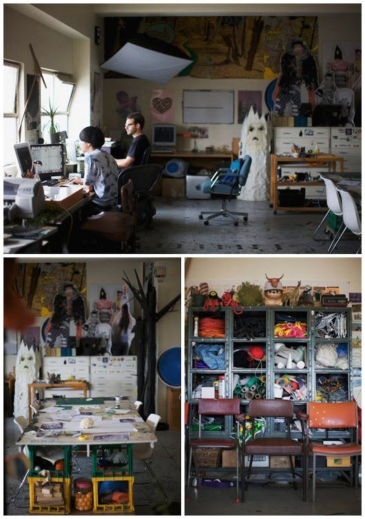 The Design Files: Interview - Tin & Ed
