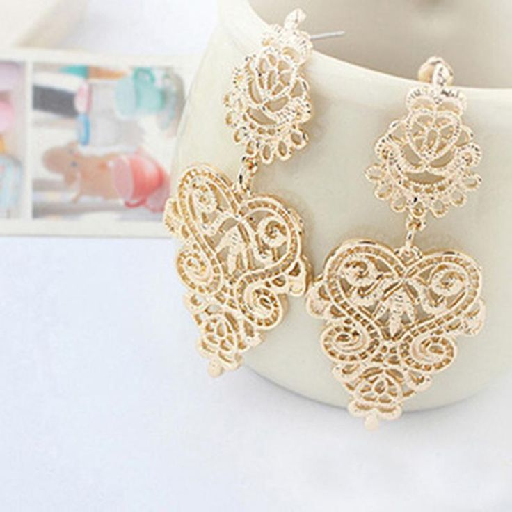 Vintage  Earrings //Price: $ 9.49 & FREE Shipping //     #jewelry #jewels #jewel #fashion #gems #gem #gemstone #bling #stones   #stone #trendy #accessories #love #crystals #beautiful #ootd #style #accessory   #stylish #cute #fashionjewelry  #bracelets #bracelet #armcandy #armswag #wristgame #pretty #love #beautiful   #braceletstacks #earrings #earring