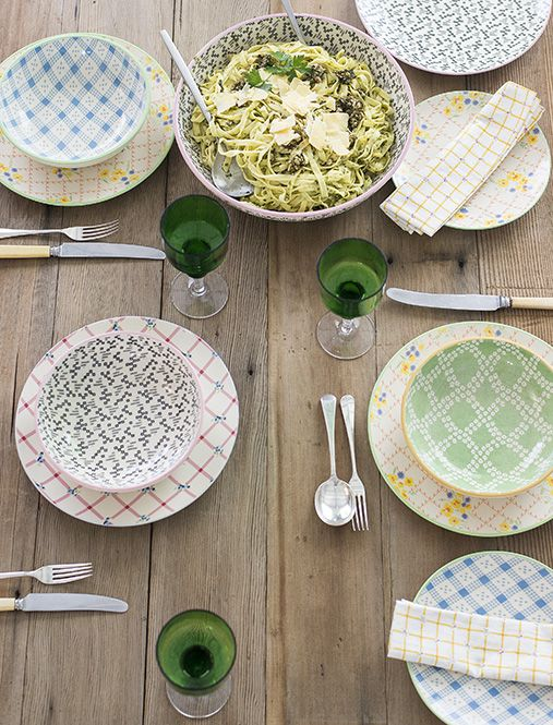 Lazybones table setting