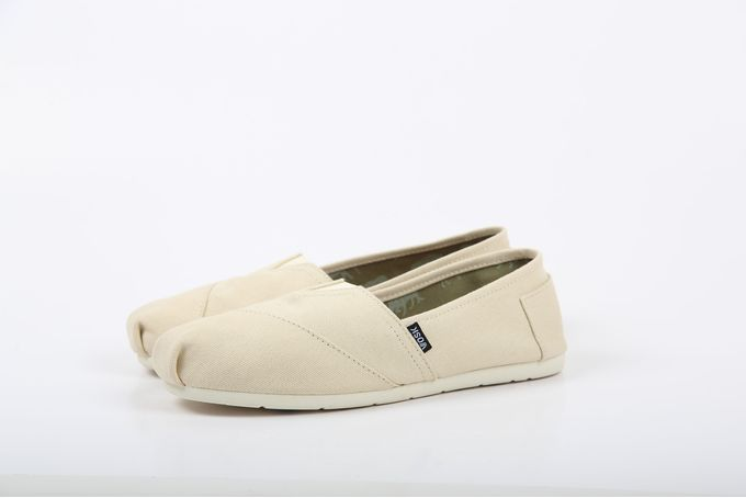 Vosk Cream Canvas Classics by Vosk Shoes