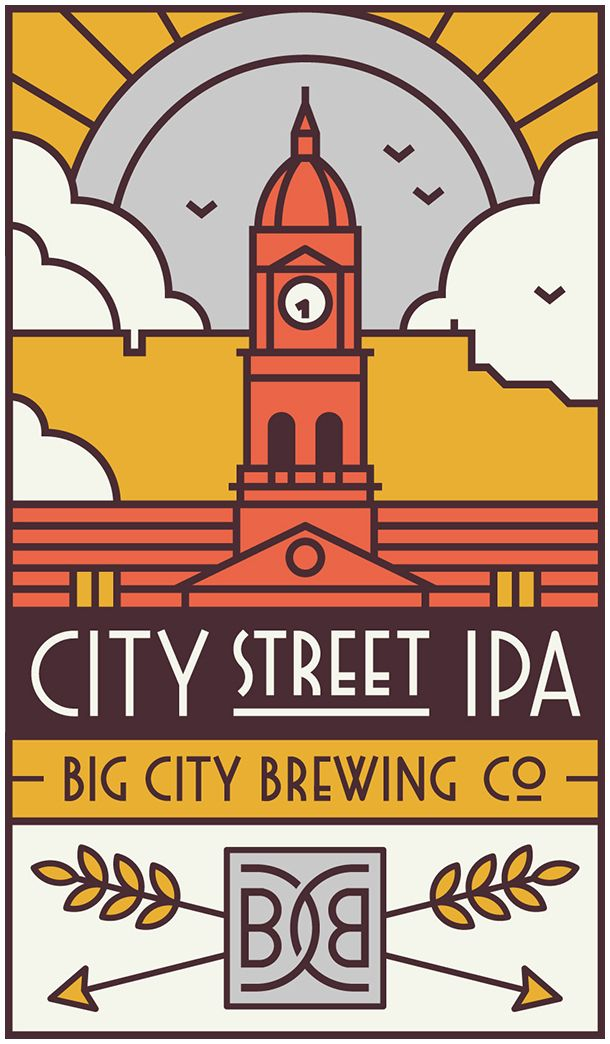 Big City Brewing Co. on Behance