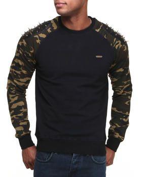 Buy Spike Raglan Sleeve Crewneck Sweatshirt Men's Sweatshirts & Sweaters from Hudson NYC. Find Hudson NYC fashions & more at DrJays.com