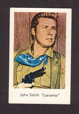 Laramie TV Series 1960s Swedish Card John Smith in Collectibles, Trading Cards, Other Trading Cards | eBay
