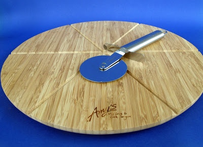 Win an Amy's Kitchen Pizza Board and Cutter! http://www.laziestvegans.com/2013/01/amys-kitchen-proof-of-purchase-giveaway.html