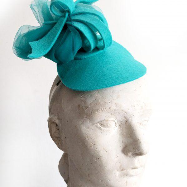 RADA Fascinator hat made by Eventivity Accessorize