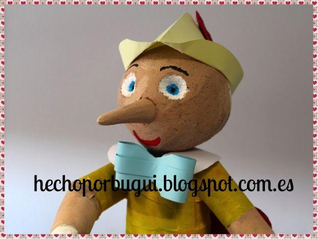 Como hacer un Pinocho (Ninot de Fallas 2016).