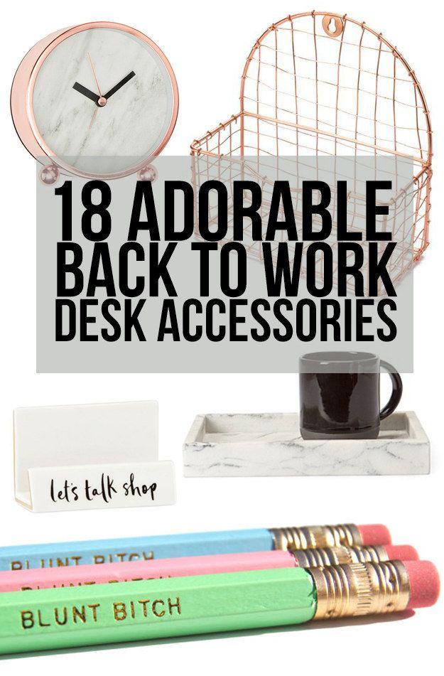 1000 ideas about cute desk accessories on pinterest - Cute desk organizers accessories ...