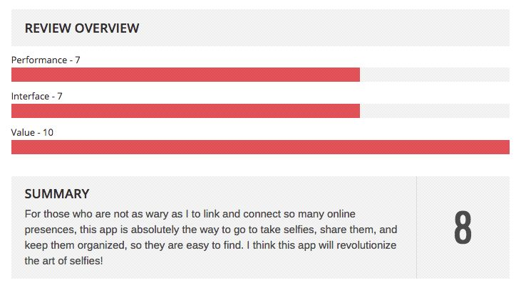 Latest SelfMe app review :-) https://itunes.apple.com/gb/app/id971862489