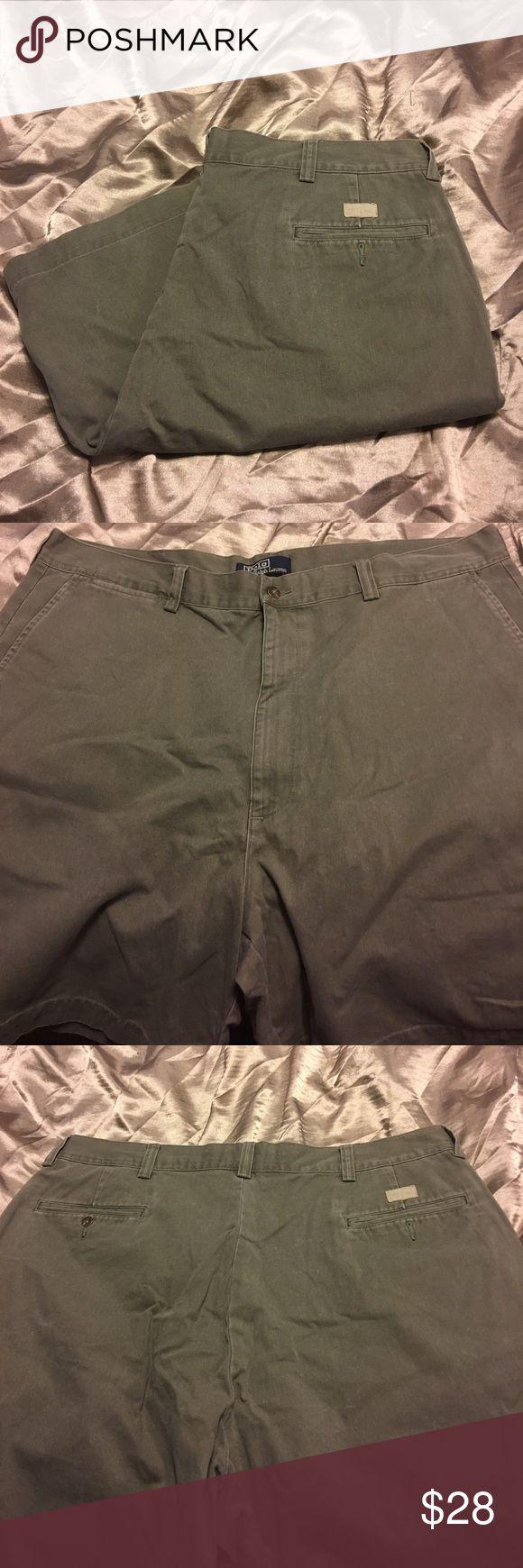 POLO by Ralph Lauren shorts POLO by Ralph Lauren men's flat front shorts size 40 inseam 8' Polo by Ralph Lauren Shorts