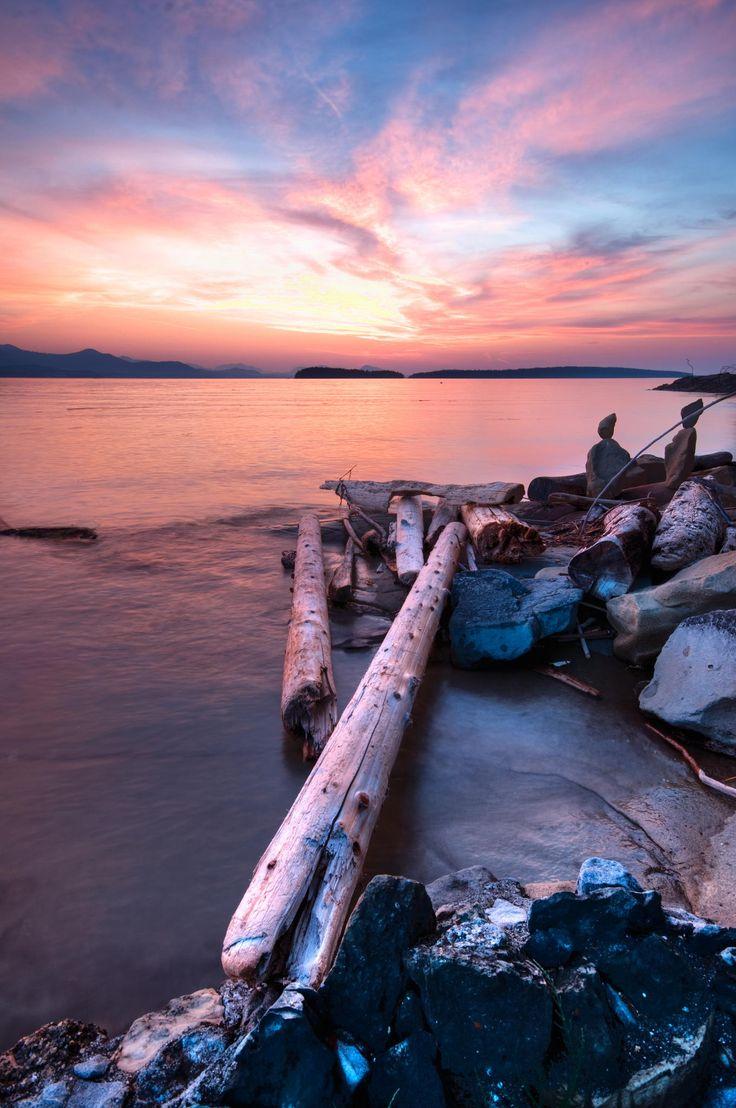 salt spring island sunset by Ben North on 500px