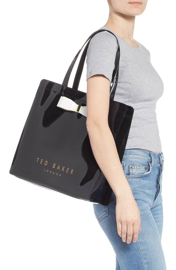 ce63b2ffd Ted Baker London Large Almacon Bow Detail Icon Tote | Nordstrom ...