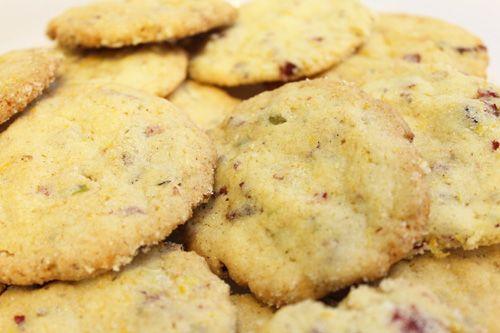 Cranberry, orange and pistachio cookies. | Devilish Desserts!! | Pint ...