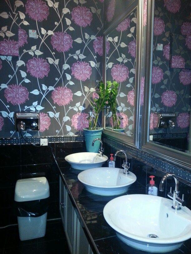 Bathroom style. Thai restaurant,  London.