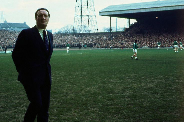 Jock Stein pictured before the European Cup semi-final v Inter in April 1972