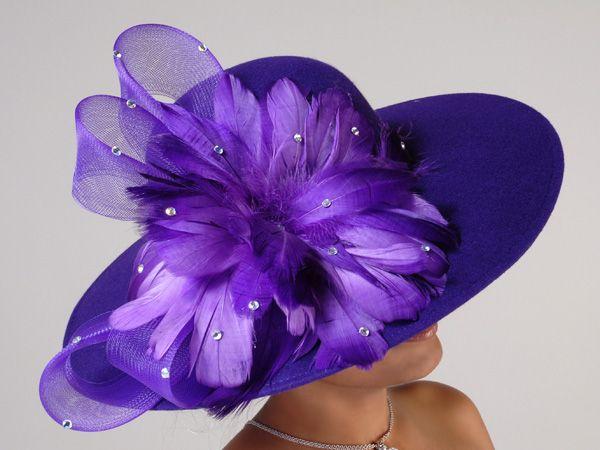 Church Hats - so me lol | Fabulous Hats | Pinterest ...