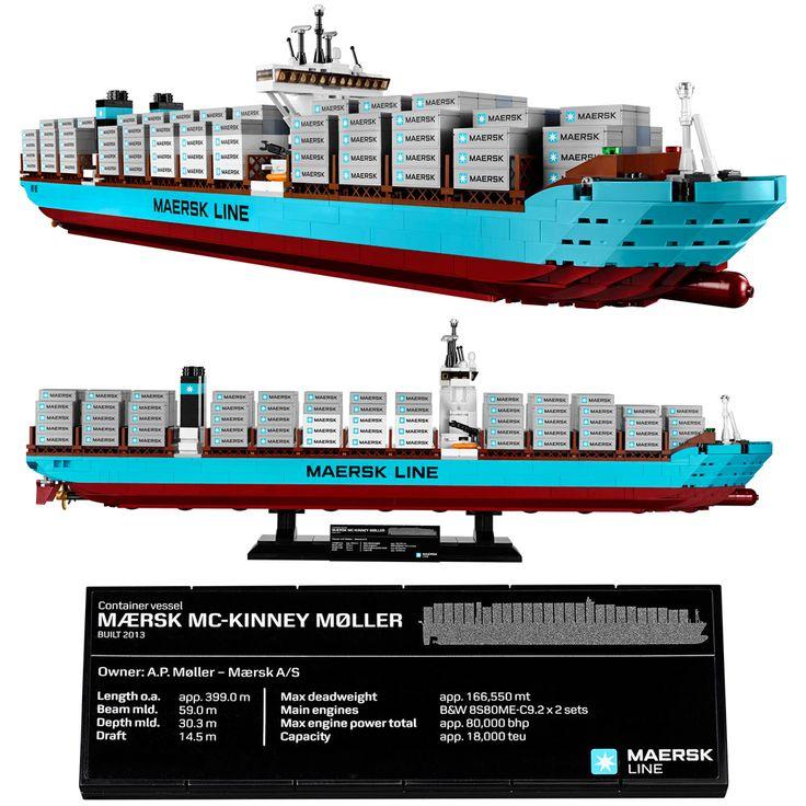 LEGO Maersk Line Triple-E Container Vessel