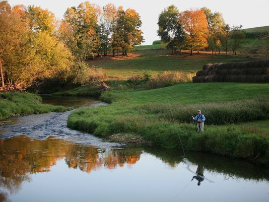 A university study found trout fishing had a $1.6 billion annual economic impact in the Driftless Area.