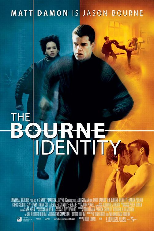 The Bourne Identity - first in the Bourne trilogy - all of which were great.