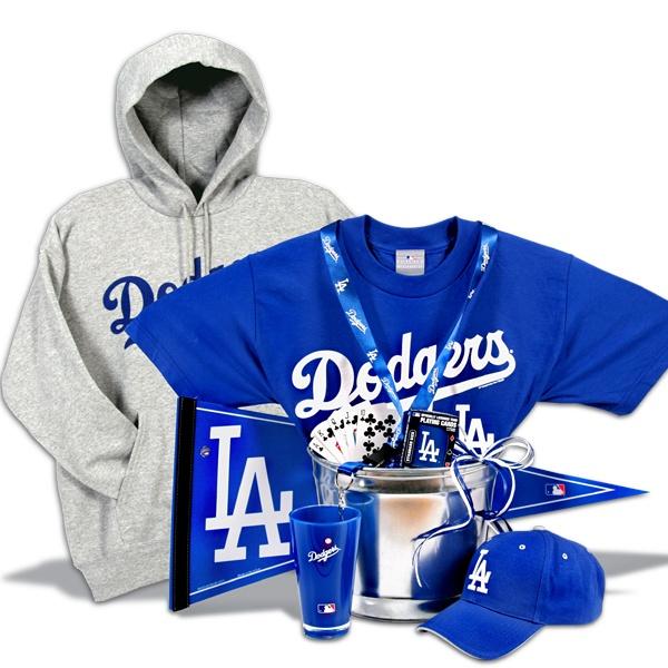 Los Angeles Dodgers Gift Basket Deluxe
