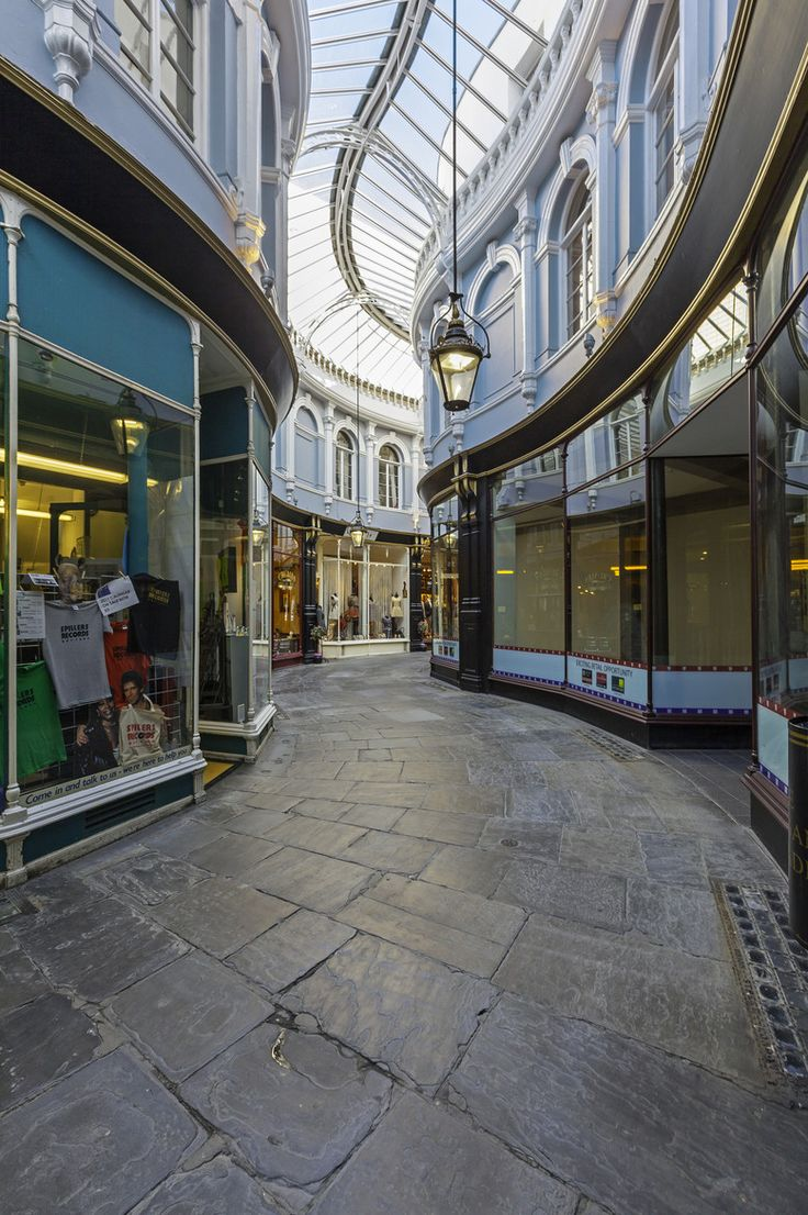 Morgan Arcade, Cardiff, South Wales - by Gary Were