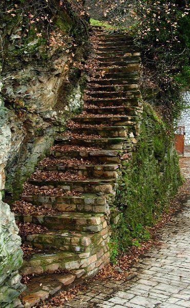 stairs to heaven.. Ano Doliana, Mountainous Arcadia, Greece