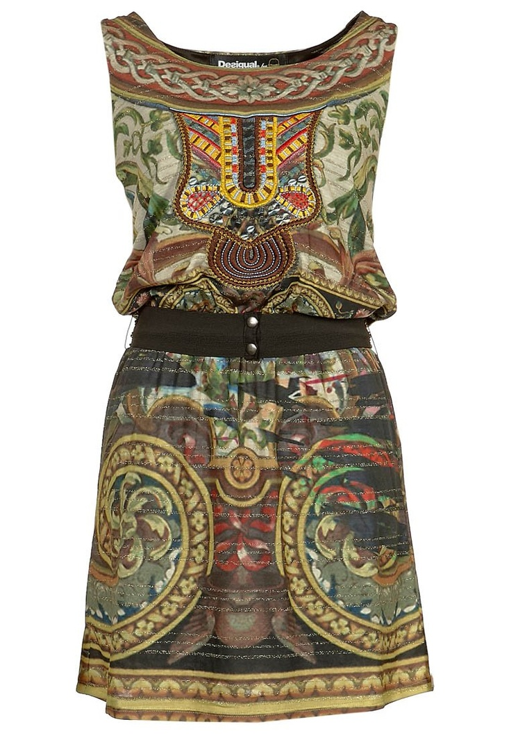 Desigual Dress. I love this brand. They have awesome prints!!