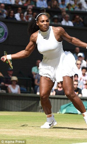 Venus and Serena Williams continue Wimbledon dominance as both progress to semi -final   Daily Mail Online
