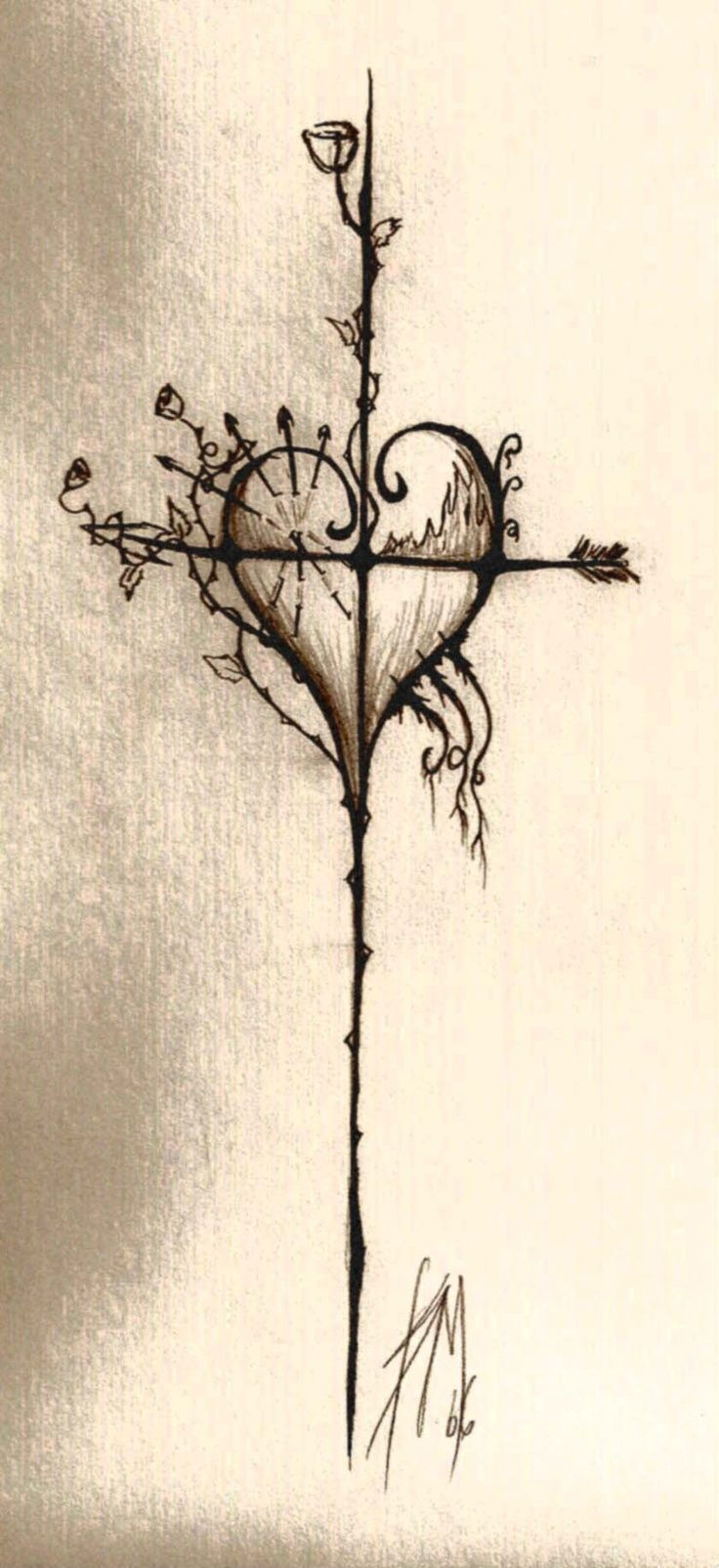 I like this, but either thicken/bold the cross or completely change it to a compass....that was my first inclination....