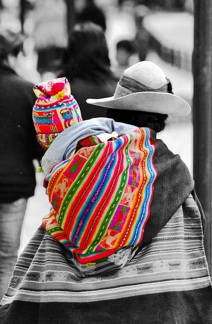 cholita - bolivia