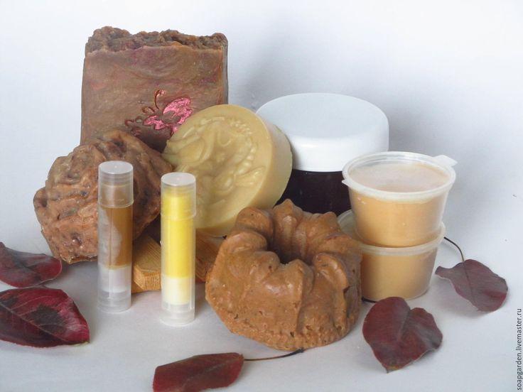 Купить Подарочный набор Мадемуазель Осень, мыло, косметика - комбинированный, набор косметики, мыльный набор