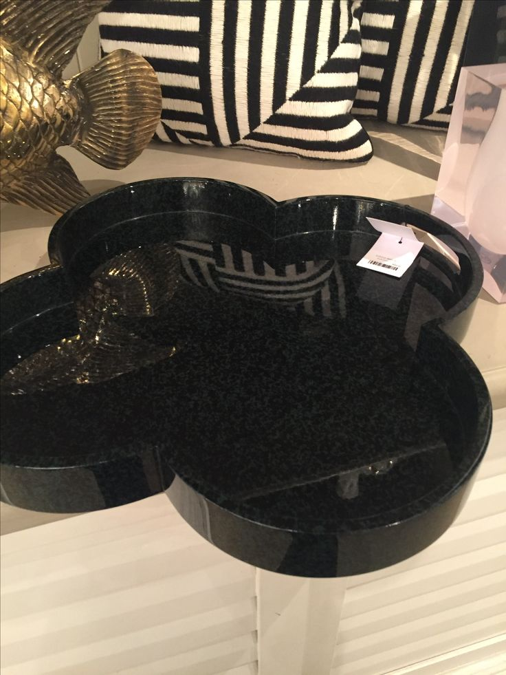 Toulouse quatrefoil tray from coco republic