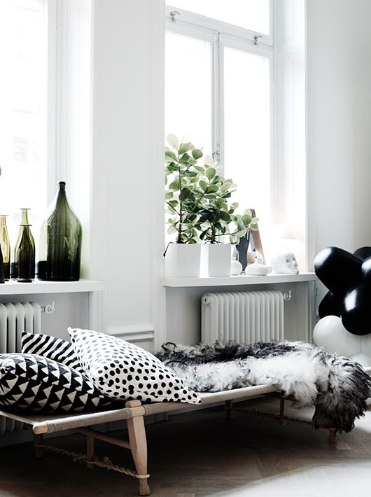 Black and white patterns in the home! https://www.etsy.com/au/shop/TashDeardenTheLabel