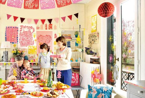 paper cut banners by famille summerbelle... Great ideas book