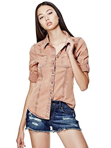 Guess Denim Shirt Womens