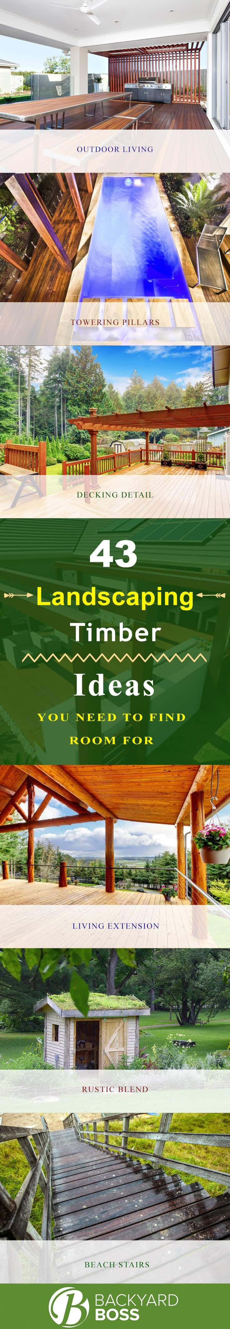 65 best Landscaping Timber Ideas images on Pinterest