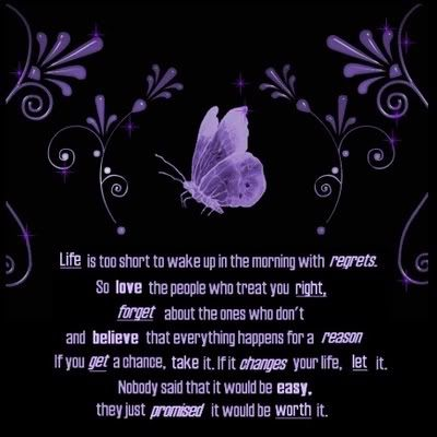 life is too short quotes | Life is too Short - Butterfly Quote