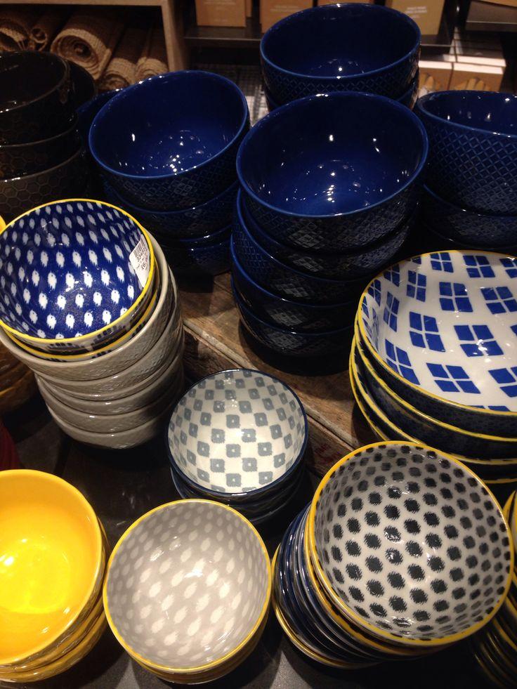 West elm patterned bowls ikat £8 each