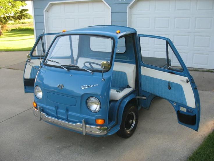LOVE: 1969 Subaru Sambar 360 $13754