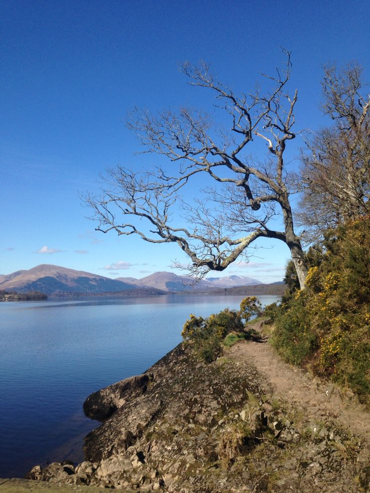 Balmaha, Loch Lomond (Scotland, Escocia)